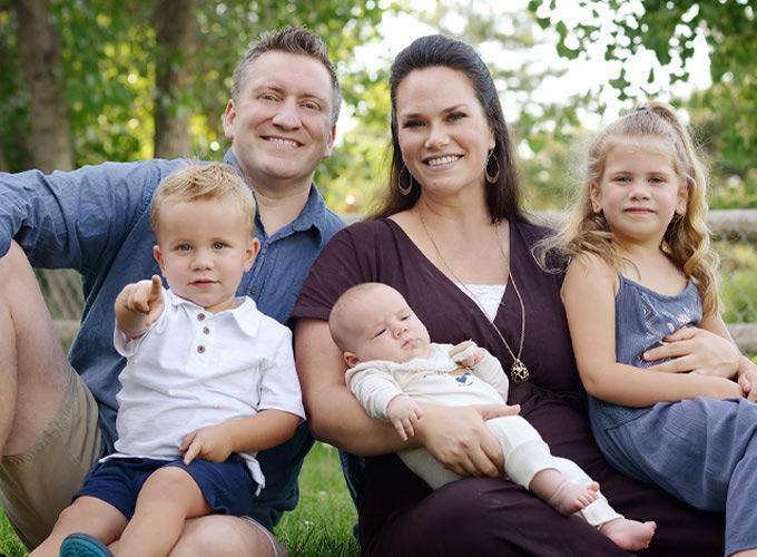 Chiropractor Acworth GA Matthew Wolfertz and Family